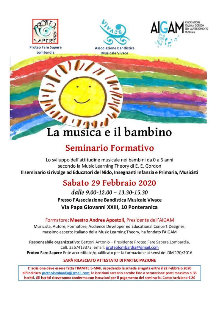Locandina LA MUSICA E IL BAMBINO_29 Febbraio